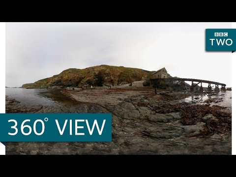 Lizard Point in 360° - Coastal Path - BBC Two