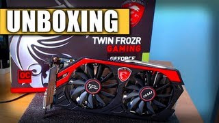 MSI GTX 770 Twin Frozr Gaming OC Edition Unboxing & Overview
