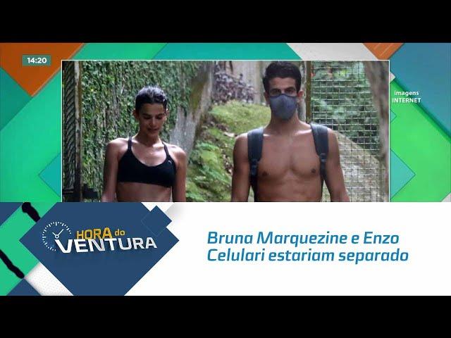 Bruna Marquezine e Enzo Celulari estariam separado