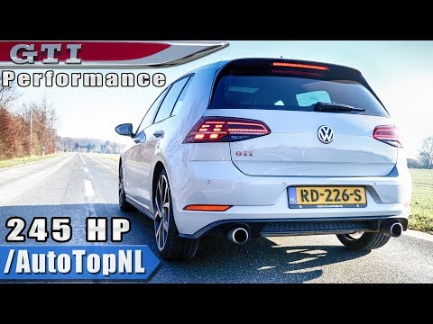 VW Golf GTI 2019 PERFORMANCE - Exhaust SOUND Revs & ONBOARD by AutoTopNL