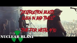 DESTRUCTION – Nailed To The Cross – Live @PartySan (OFFICIAL TRAILER)
