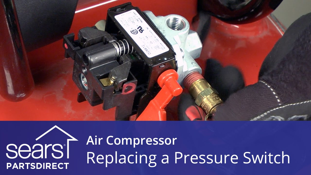 how to replace an air pressor pressure switch youtube Air Pressure Regulator with Gauge