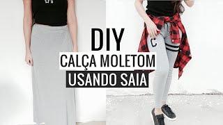 DIY-Calça moletom estilosa|Camyla lima