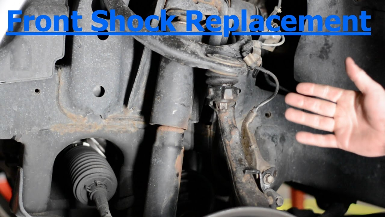 100 Series Land Cruiser FRONT Shock Replacement