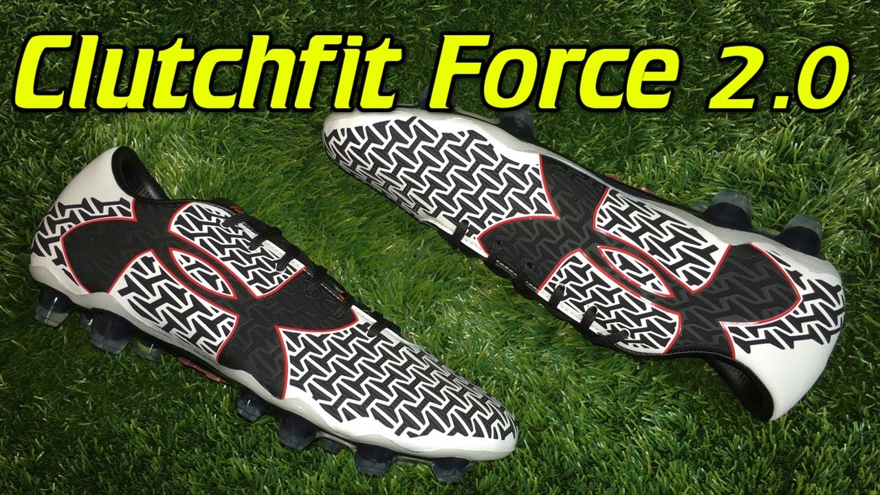 cf2f55b54 Under Armour Clutchfit Force 2.0 White Black Risk Red - Review + On ...