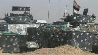 القوات العراقية تستعيد حي الشهداء جنوب المدينة الفلوجة من داعش