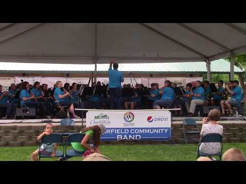 "Clearfield Community Band ""March On America"" By Douglas Wagner 7/14/18"