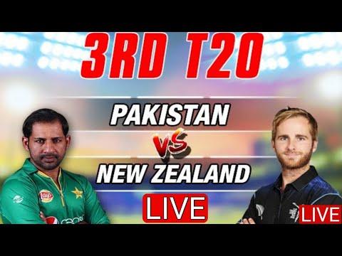 Pakistan VS New Zealand Live Streaming 3rd T20 || Ptv Sports Live