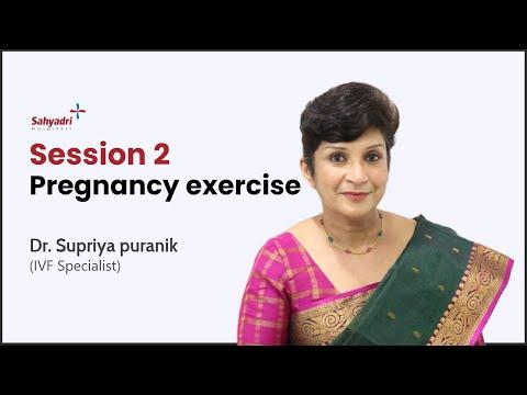 Workout During Pregnancy Second Trimester | Dr Supriya Puranik | Sahyadri Hospitals, Pune