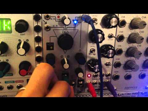 Make Noise MMG self oscillation