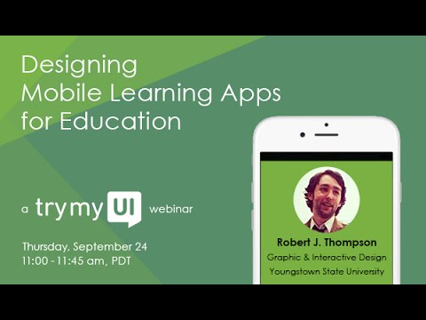Designing Mobile Learning Apps For Education