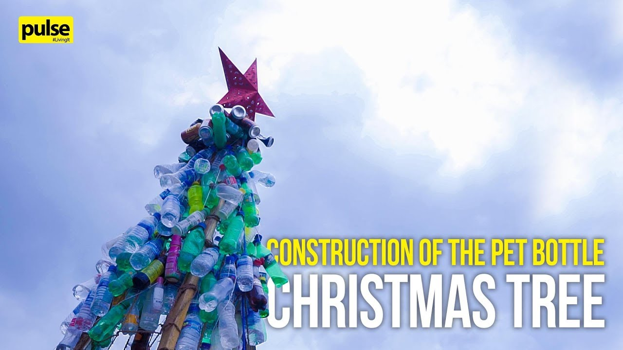 Construction of the PET Bottle Christmas Tree