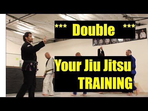Double Your Jiu-Jitsu Training with mindful reflections