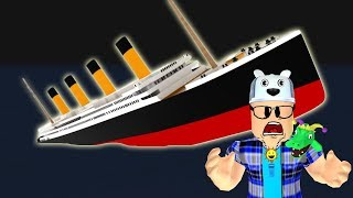 ROBLOX: TRY TO SURVIVE IN THE WORLD'S LARGEST SINKING SHIP!! -Jouer vieil homme