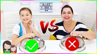 REAL FOOD vs. CANDY FOOD Challenge - OKTOBERFEST EDITION 🥨 Alles Ava