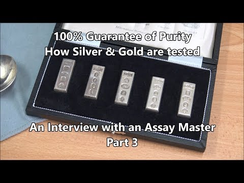 How The Assay Office Test Silver & Gold - Interview With The Edinburgh Assay Master - Part 3