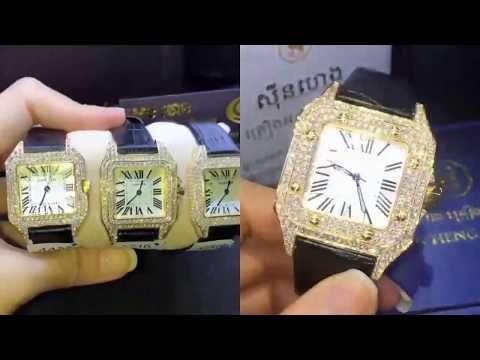 Diamond watches - Seng Heng, Sin Heng Cambodia jewelry shop