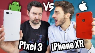 Apple iPhone XR VS Google Pixel 3 : LE BIG FIGHT !