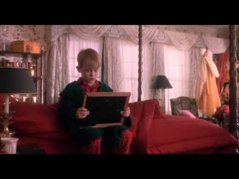 Home alone  Touching