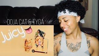 Doja Cat, Tyga - Juicy (Official Video) REACTION! #jasmineanderson