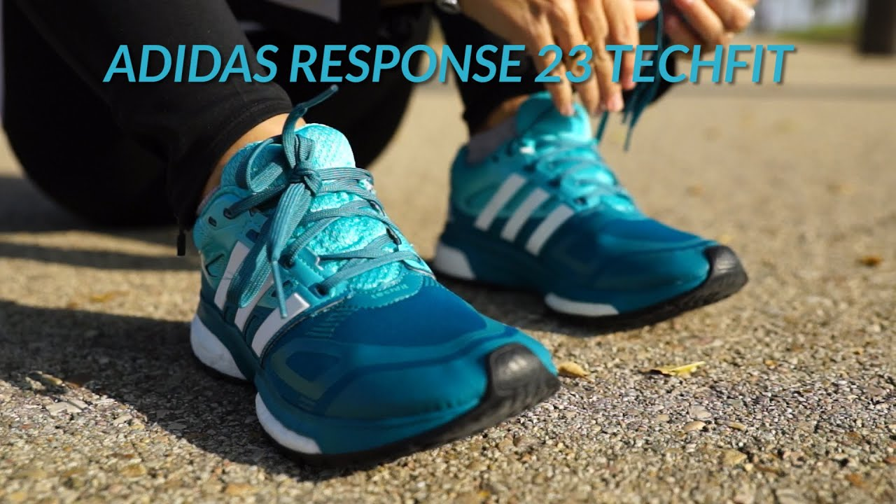 zapatillas adidas response boost techfit