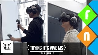 Trying HTC Vibe at the Microsoft Store - Should We Consider VR Ep. 2!