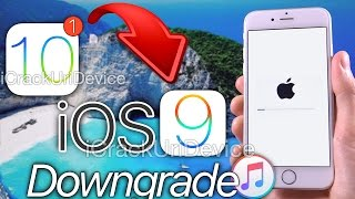 How To Downgrade iOS 10 GM / 10.0.1 to iOS 9.3.5 & KEEP iOS 9 Data!