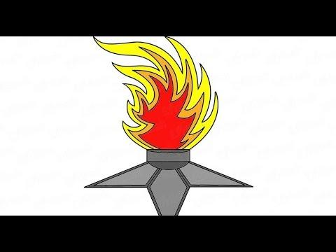 Как поэтапно нарисовать вечный огонь: инструкция от EvriKak