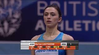Мария Ласицкене - Чемпионка мира в помещении!