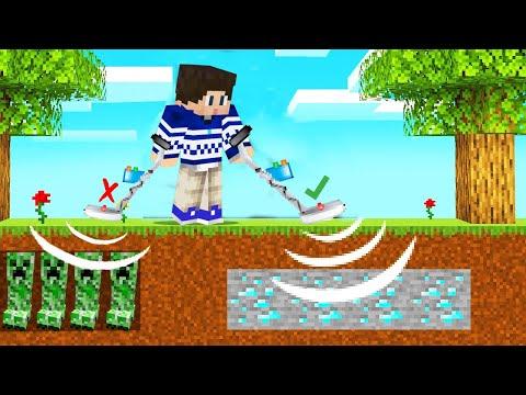 Pronasao Sam DIJAMANTE Sa DETEKTOROM U Minecraftu !