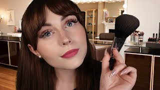 [ASMR] Makeup Artist Gets You Ready - personal attention, face brushing