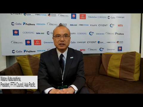 President of FTTH Council Asia Pacific, interviewed by Telecom Lead at the FTTH APAC Conference 2017