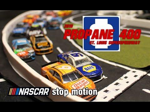 NASCAR Stop Motion- 2019 Propane 400