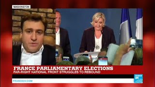 National Front  Why are they struggling in the legislatives?