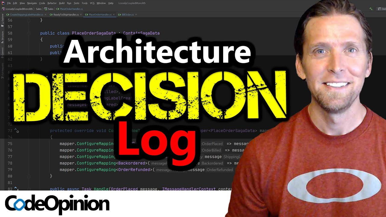 """Architecture Decision Records (ADR) as a LOG That Answers """"WHY?"""""""