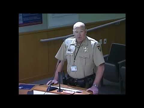 October 18 Spokane County Sheriff Budget Presentation