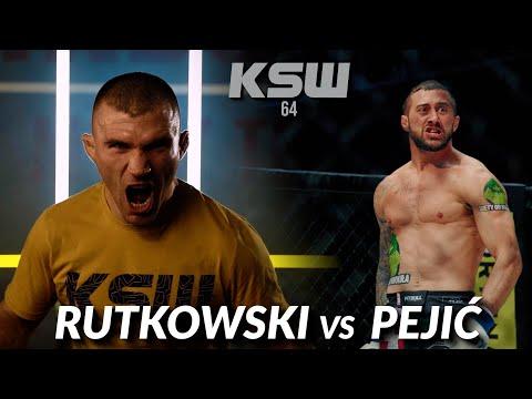 KSW 64: Filip Pejić vs Daniel Rutkowski