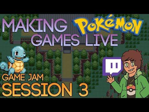 Making Pokemon Games Live (Game Jam Session 3)