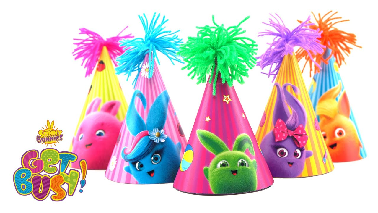 Sunny Bunnies Crafty Party Hats Get Busy Brand New Episode Cartoons For Children Youtube