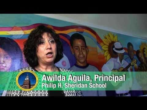 Philip Sheridan School Principal Awilda Aguila's School Mission