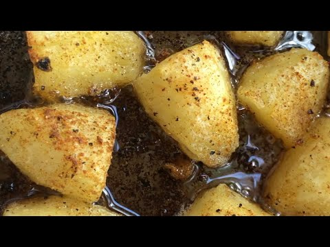 Garlic & Herb Roasted Potatoes