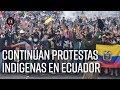 Movimiento indígena en Ecuador: ¿Por qué continúan las protestas? - El Espectador