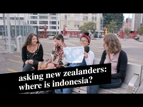 Asking New Zealanders: Where is Indonesia?