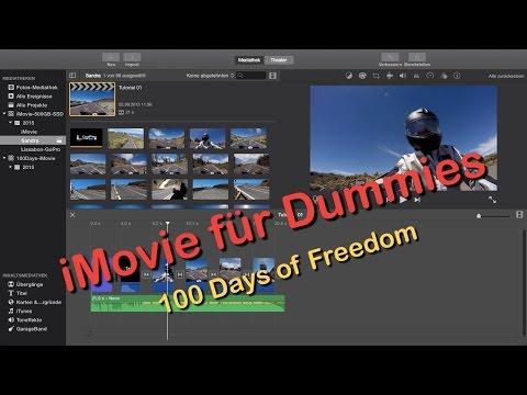 iMovie für Dummies - Tutorial für Einsteiger - HD 720p
