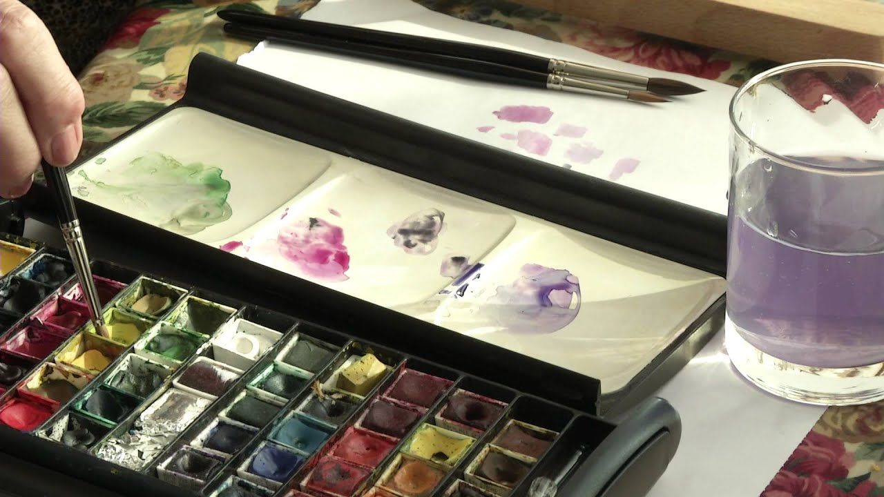 Botanical art classes at Dyffryn Gardens through the