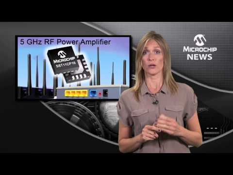 Microchip's 5 GHz RF power amplifier for new IEEE 802 11ac Wi-Fi® standard