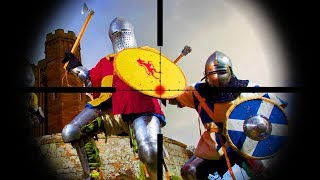 Airsoft Sniper VS Medieval Knights! Who Wins?