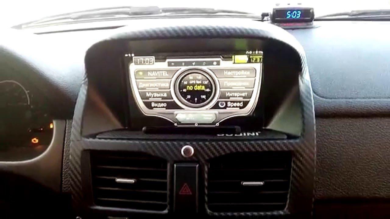 Автопланшет DVR FC-950 с навигатором обзор / Автомобильный планшет .