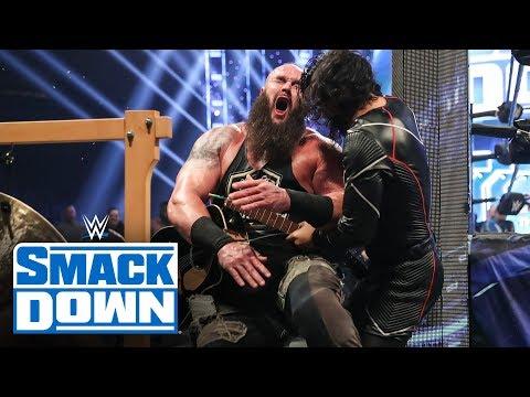 Braun Strowman & Elias vs. Shinsuke Nakamura & Cesaro – Symphony of Destruction Match