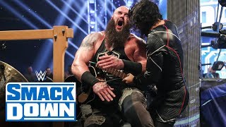 Braun Strowman & Elias vs. Shinsuke Nakamura & Cesaro – Symphony of Destruction Match